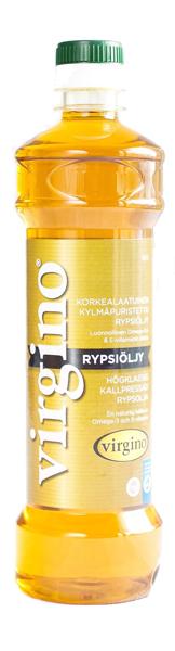 Premium cold-pressed Virgino rapeseed oil