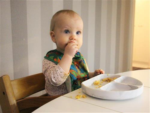 Rypsiöljy täydentää vauvan ruokavalion