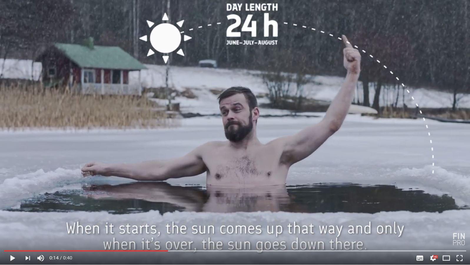 Mahtava Suomi -kampanja Saksassa