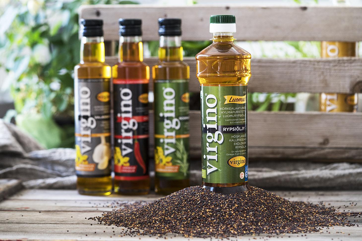 Rypsiöljy on luonnollinen elintärkeiden omega-3-rasvahappojen lähde