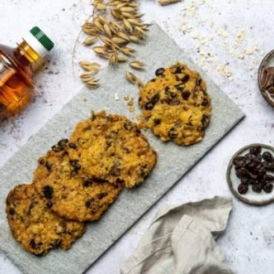 Suklaa-rusina cookiet