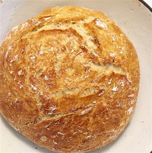 Tuoreen leivän tuoksua