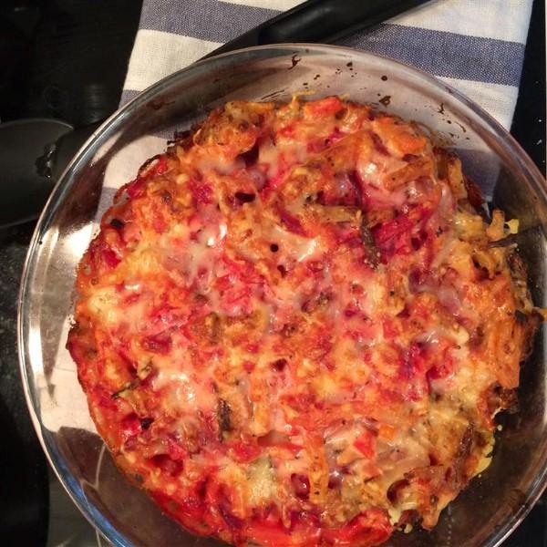 Sadonkorjuuajan kasvisruokaa – mehevä punajuurikiusaus