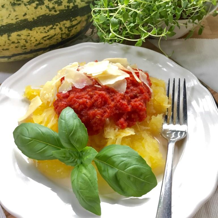 Spagettikurpitsa on kevyt ja maukas vaihtoehto pastalle