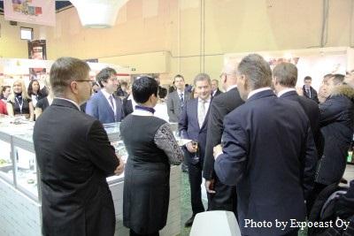 Presidentti Niinistö vieraili Food From Finland -osastolla